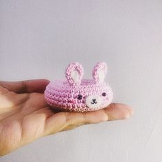 Donut rabbit  #donut #rabbit #pink #bunny #amigurumi #crochet #handmade #keychain #bonekarajut #souvenir