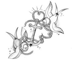 2 doves and anchor