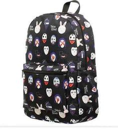 Tokyo Ghoul Anime Licensed Bioworld Cosplay Mask School Backpack Rucksack  Bag, Backpack Bags, Animal e6a36a80f7