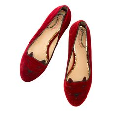 Give #GoodwillAndGoodShoes from Charlotte Olympia this holiday season with the purrrfect Kitty Flats