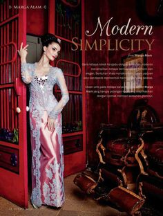 "I want this kebaya for my ""Lamaran"""