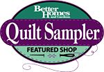 Quilters Quarters.... proud to have been chosen as one of the TOP 10 Quiltshops for 2006