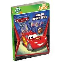 New LeapFrog Tag Junior Book Disney Pixar Cars 2: World Adventure $14.99