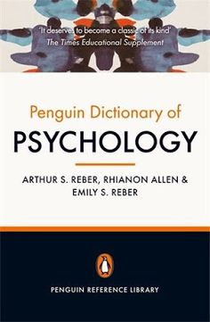The Penguin Dictionary of Psychology has become a byword for demystifying the language of this complex subject. Now fully updated for its fourth edition,. Freud Quotes, Psychology Books, Reference Book, Penguin Books, Book Summaries, Psychiatry, Phobias, Social Science, Used Books