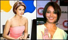 Priyanka Chopra and Bipasha Basu in bob style