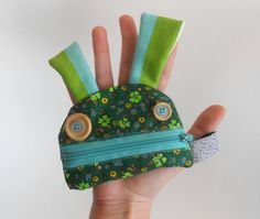 Zé coinglutton mini  Funny coin purse  little wallet by Zezling, €11.00