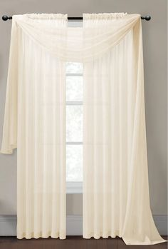 Sheer Curtain Panels, Sheer Curtains, Panel Curtains, Scarf Curtains, Windows, Decor Ideas, Decorations, Diamond, Party