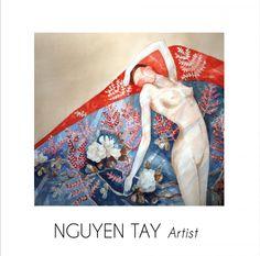 Nguyen Tay, un jeune artiste-peintre vietnamien, expose pour la première fois dans une galerie parisienne à deux pas du Champs de Mars et de la Tour Eiffel Découvrez sa touche asiatique-contemporaine et son univers coloré d'aquarelles et d'encre de Chine ainsi que ses peintures de Femmes et de soie.