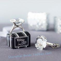Bridal Wedding Engagement Ring Keychain Souvenirs BETER-WJ038/A