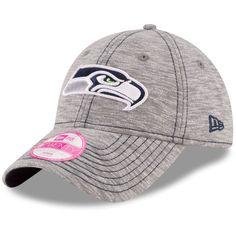Seattle Seahawks New Era Women's Team Mist 9TWENTY Adjustable Hat - Gray