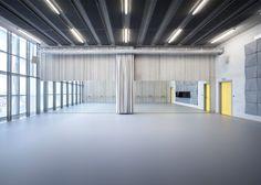 "Parisian dance school is described by Lankry Architectes as a ""monumental Minimalist sculpture"""