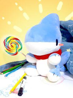 Cat Shark, Shark Art, Cute Animal Drawings, Cute Drawings, Drawing Animals, Cute Images, Cute Pictures, In The Zoo, Super Cute Animals