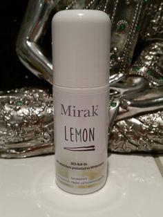 Mirak Deo RollOn Terre und Lemon - Naturkosmetik die wirkt! Deo RollOn ohne Aluminium, Alkohol, Palmöl. Sehr hautfreundlich und wirksam.  #HLHBiopharma #Mirak #Deo #Deodorant #Naturkosmetik