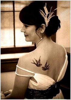 100 Pretty Swallow Tattoo Designs