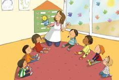 Ona Caussa | Pren la Paraula! (cuadernos lectoescritura preescolar).  Editorial Baula