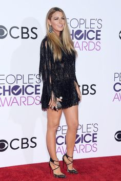 The People's Choice Awards Red Carpet Packs Enough Style Blake Lively          For the Rest of the Week