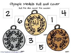 Free! Roll & Cover 2012 Summer Olympics...6 games!