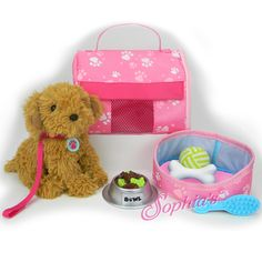 Trendy Dolls - Plush Puppy Carrier