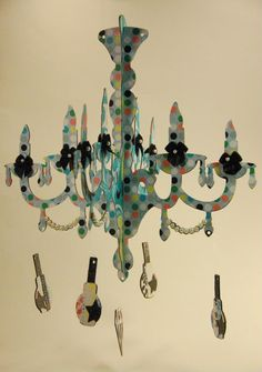 217 Creations Makeup Party Chandelier Made With Cricut