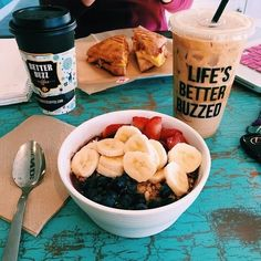 Image via We Heart It https://weheartit.com/entry/160259405 #coffee #health #healthy #oatmeal #voss #betterlifestyle