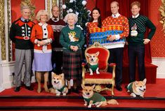 This Photo of the Royal Family in Ugly ChristmasSweaters Is Everything from InStyle.com