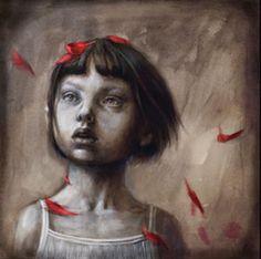 çizgili masallar: Little Red Por Beatriz Martín Vidal