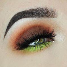 Gorgeous Makeup: Tips and Tricks With Eye Makeup and Eyeshadow – Makeup Design Ideas Gorgeous Makeup, Love Makeup, Makeup Inspo, Makeup Art, Beauty Makeup, Makeup Ideas, Colorful Eye Makeup, Makeup For Green Eyes, Eyeshadow Looks