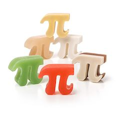 Box of Pi Soap Set | ThinkGeek