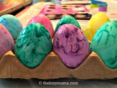 You don't have to miss out on celebrating Easter with an egg allergy. There are several alternatives out there so your kids can enjoy coloring eggs. http://www.thebizymama.com/2017/03/11/easter-with-an-egg-allergy/