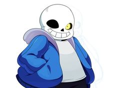 "I TOLD YOU GUYS I AMMMMMM SANS. (though, i chose a lot more of the ""cry"" options XD)"