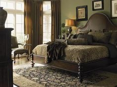 The Barclay Square collection by Lexington Furniture features a timeless traditional design.    Its pieces reflect a classic british style that has been refined for modern living. By taking traditional designs into a new age, the Barclay Square collection has blended many different materials and design elements. A warm brownstone finish on rustic cherry pieces, this collection displays an air of sophistication and understated elegance.
