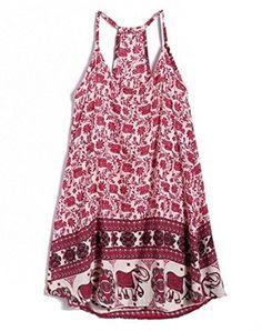 Bluetime Women's Vintage Sleeveless Slip Dress with Spaghetti Straps: Amazon Fashion