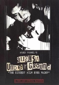 AUGUST UNDERGROUND DVD RARE Toetag Gore Fred Vogel NEW Extreme Horror