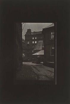 Prague at Night, 1958. Josef Sudek, Czechoslovakian, 1896–1976