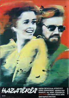 Hazatérés -  Hungarian vintage movie poster