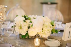 long rectangular vases for centerpieces