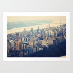The Upper West Side Art Print by Maybesparrowphotography. Worldwide shipping available at Society6.com. Just one of millions of high quality products available.