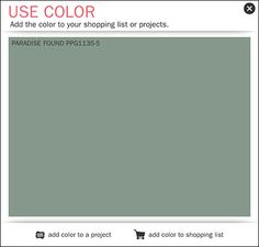 Another calming organic color recommendation for 2016 is PPG® Pittsburg Paint's Paradise Found Green (PPG1135-5). Subtle yet refreshing it brings the outdoor world into your color designs. Read PPG...