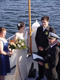 Virginia Steamer Boat Wedding