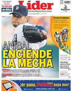 #ANÍBAL ENCIENDE LA MECHA | El diestro abre por #Tigers | Es nuestra portada del 17 de julio