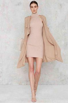 Cashin' Necks Sleeveless Dress - Going Out | Basic | Midi + Maxi