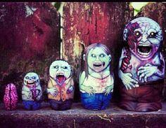 Nestinh Zombies