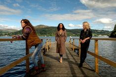 What is Deep Water about? Deep Water is ITV's emotional new thriller, which stars Anna Friel, Sinéad Keenan and Rosalind Eleazar. Anna Friel, Big Little Lies, Reese Witherspoon, Nicole Kidman, Saga, Faye Marsay, Anne Neville, Bbc Three, Secrets And Lies