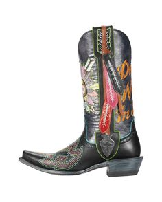 Ariat Women's Indian Sugar Soule Boot - Black    These are way too fun! Of course also $469.95    http://www.countryoutfitter.com/products/30378-womens-indian-sugar-soule-boot-black