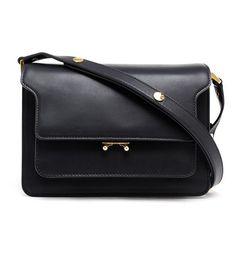 Marni Total Black Trunk Bag