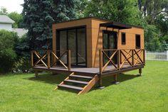 Дачный модульный дом 16 кв. м | Rubus Home