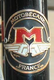 Motobecane France headbadge