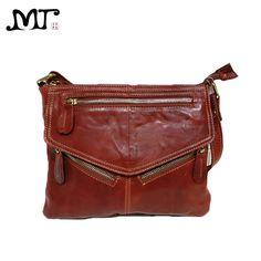 87f672b994de MJ Brand Design Soft Genuine Leather Women Messenger Bags Real Leather  Crossbody Shoulder Bag Small Handbags Phone Bag for Girls Wholesale Price +  Coupon ...