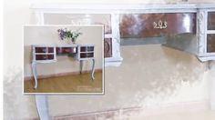Si quieres ver más de nuestros trabajos  en           http://bohemianandchic.com/  Antiguos tocadores renovados puede ser utilizados como tal en el dormitorio en un vestidor o en el baño.Como consola en la entrada de la casa o mueble auxiliar en un rincón del salón como mesa de trabajo no sólo en tu hogar también en un negocio o comercio. Tiene múltiples uso que pueden aportar un toque único y con mucho encanto a cualquier espacio.
