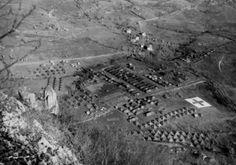 Hospital aerial view Passo della Futa Gothic Line